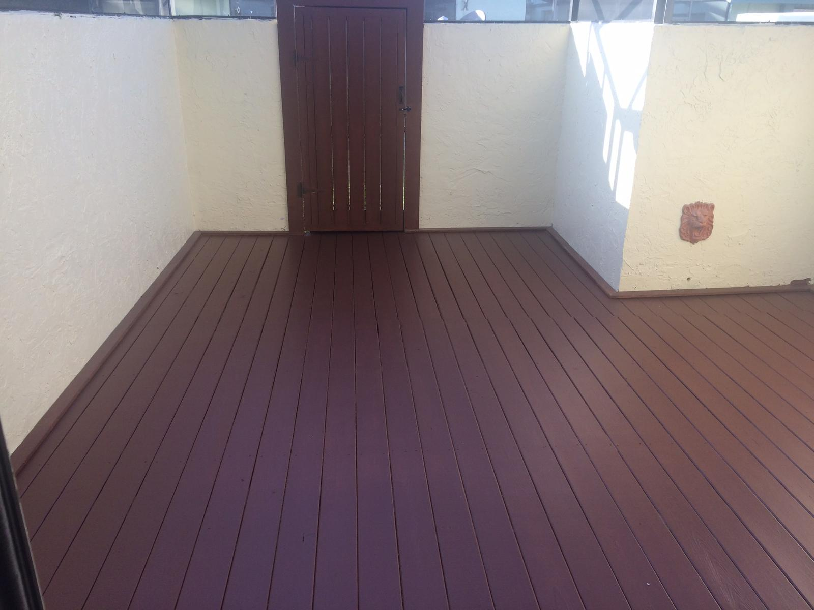After - Deck Recover